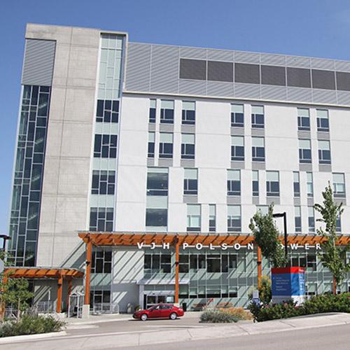 Vernon Jubille Hospital Exterior